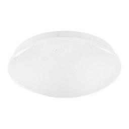 LED-Deckenleuchte Dalia Weiß max. 11 Watt - Weiß, KONVENTIONELL, Kunststoff/Metall (26/8cm) - Based