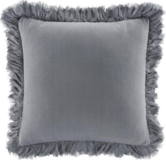Kissen Pascaline ca.45x45cm in Hellgrau - Hellgrau, MODERN, Textil (45/45cm) - Mömax modern living