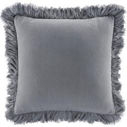 Zierkissen Pascaline 45x45cm - Hellgrau, MODERN, Textil (45/45cm) - Mömax modern living