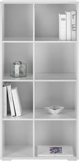 Regal Basic - Weiß, MODERN, Holz (60/123/29,5cm) - Mömax modern living