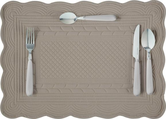 Pogrinjek Linda - siva, Romantika, tekstil (50/70cm) - Mömax modern living