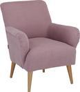 Fotelja Bardolino - prirodne boje/prljavo ružičasta, Lifestyle, tekstil (77/82/44/78cm) - Mömax modern living