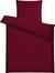 Bettwäsche Brigitte in Rot, ca. 135x200cm - Rot, KONVENTIONELL, Textil - Mömax modern living
