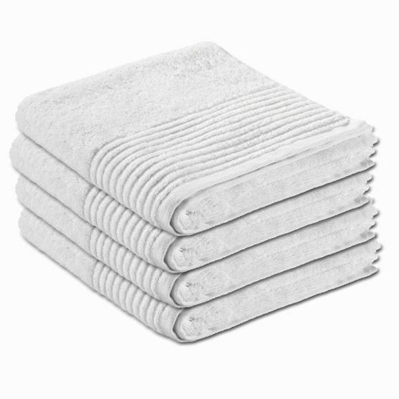 Handtuch Dyckhoff 50x100cm - Weiß, Textil (50/100cm) - Dyckhoff