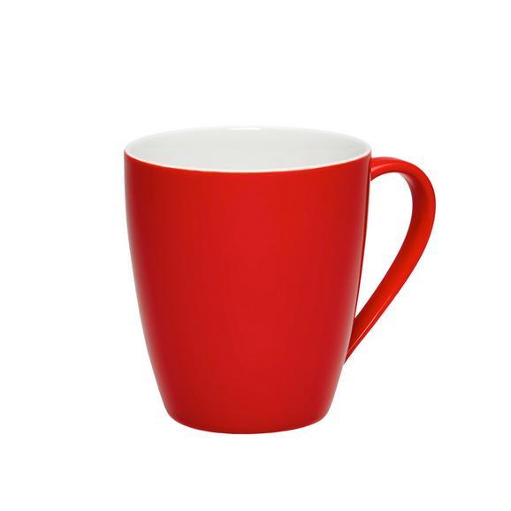 Becher Sandy in Rot aus Keramik - KONVENTIONELL (8,9/10cm) - Mömax modern living
