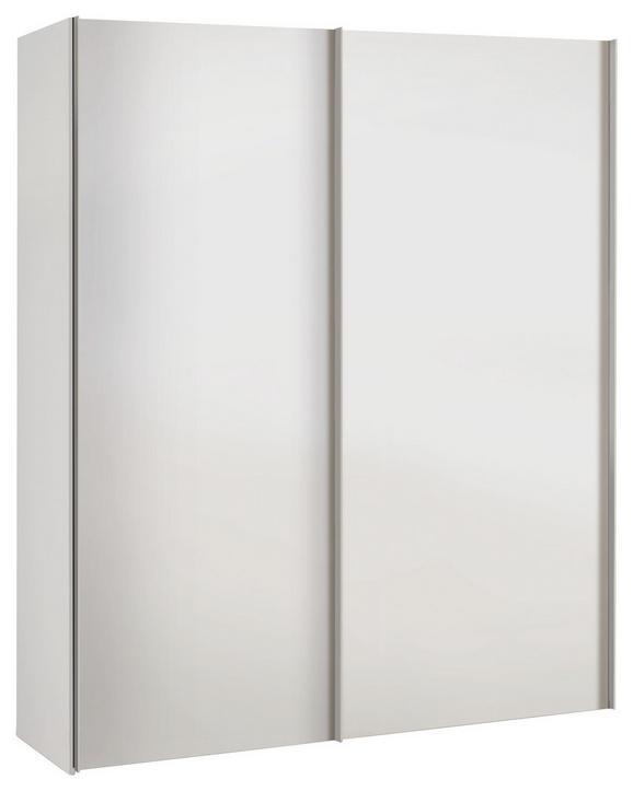 Schwebetürenschrank Weiß - Weiß, KONVENTIONELL, Holzwerkstoff (175/216/68cm) - MODERN LIVING