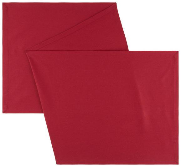 Tischläufer Steffi Rot - Rot, Textil (45/150cm) - Mömax modern living