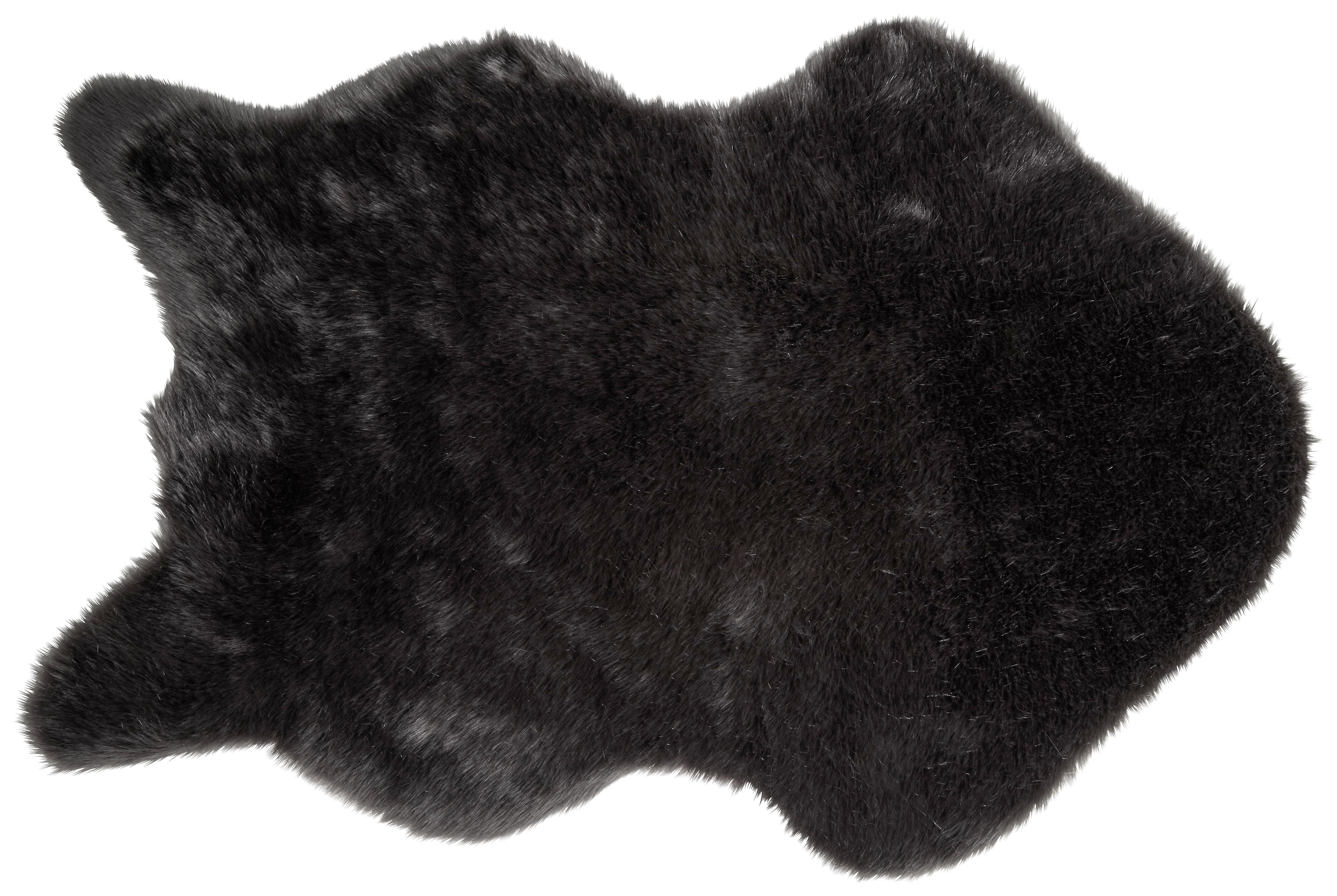 Kunstfell Lisa, ca. 60x90cm - Rosa/Grau, Textil (60/90cm) - MÖMAX modern living