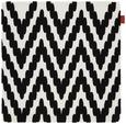 Kissenhülle Mary Stick Schwarz 45x45cm - Schwarz, MODERN, Textil (45/45cm) - Mömax modern living