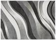 Webteppich Tina ca. 160x230cm - Anthrazit/Weiß, KONVENTIONELL, Textil (160/230cm)