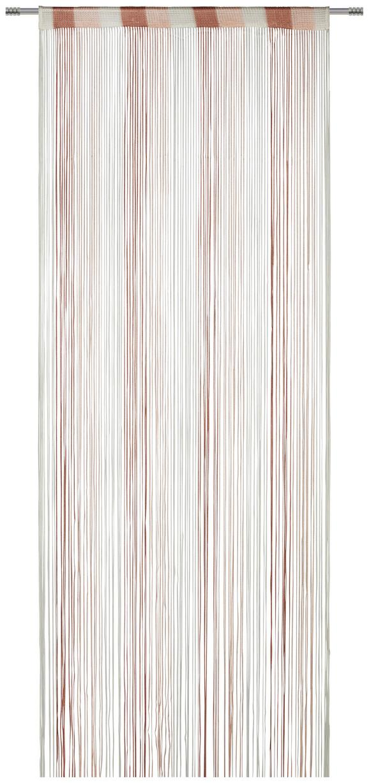 Nitasta Zavesa String - roza/bela, tekstil (90/245cm) - Premium Living