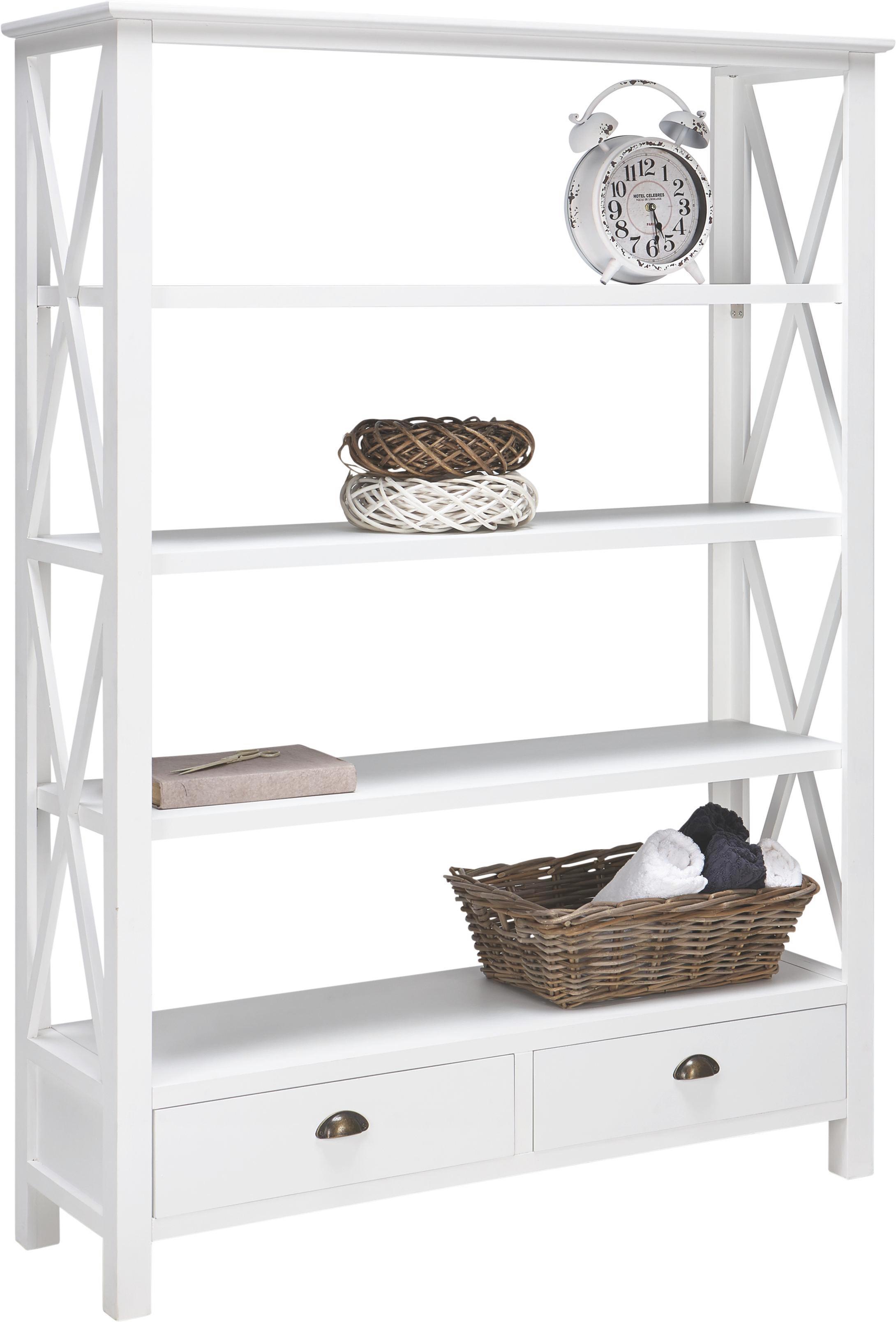 Bücherregal weiß modern  Bücherregal Claudia online kaufen ➤ mömax