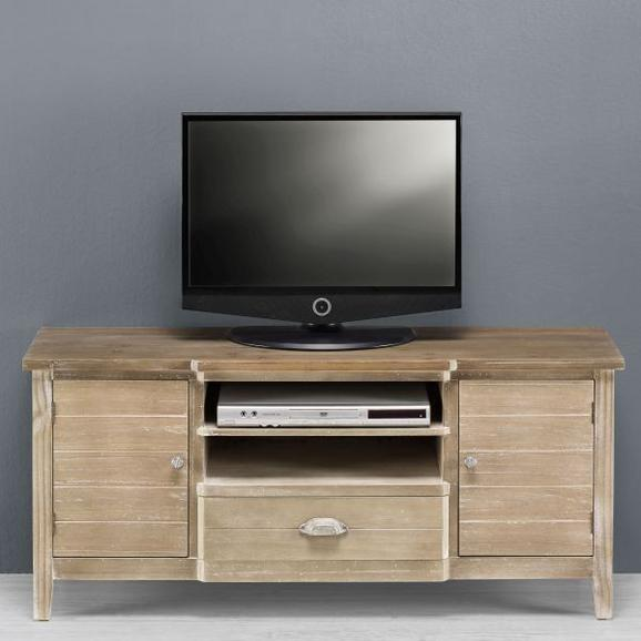 TV-Element Savannah Antik - Braun, Holz/Metall (121,5/54/36,5cm) - premium living