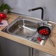 Eckküche Nolte Lux Grau - Grau (235/305cm) - Nolte Küchen