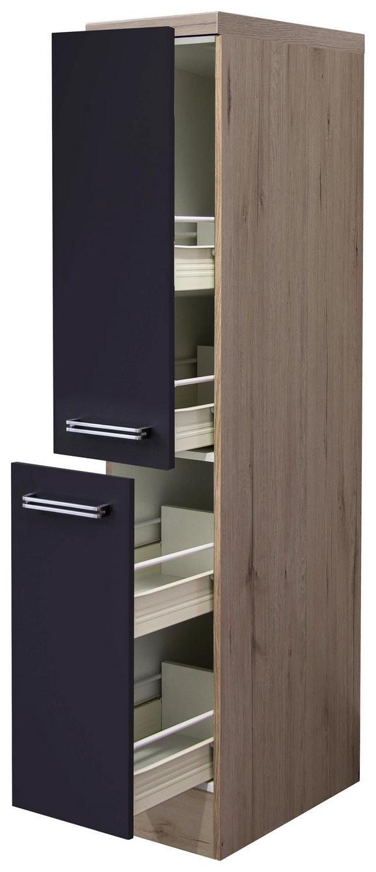Izvlečna Omara Milano - hrast/antracit, Moderno, kovina/leseni material (30/162/57cm)