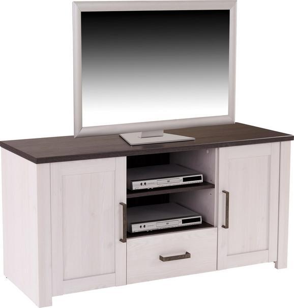 Tv Element Provence - bijela/brončana, ROMANTIK / LANDHAUS, drvni materijal/metal (153,9/63,9/42cm) - Modern Living