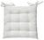 Sitzkissen Bill Weiß 40x40cm - Weiß, Textil (40/40cm) - Mömax modern living