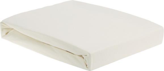Gumis Lepedő Elasthan - Bézs, Textil (100/200/28cm) - Premium Living