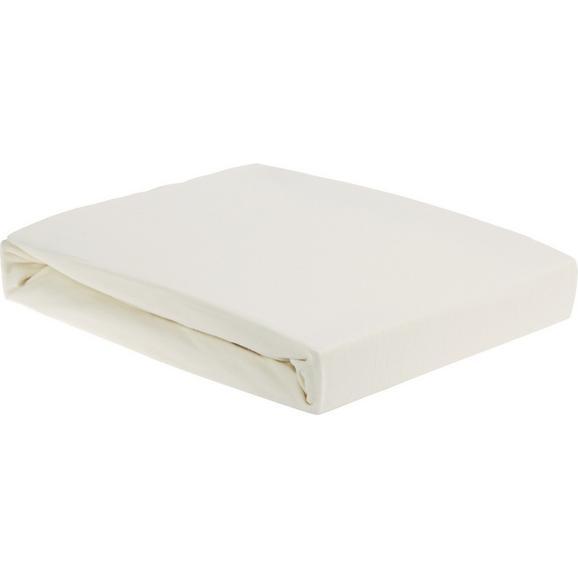Plahta S Gumicom Elastin  Topper -ext- - bež, tekstil (160/200/15cm) - Premium Living