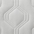 Matratze Irisette H3 90x200cm - Weiß, KONVENTIONELL, Textil - Irisette