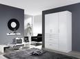 Omara S Klasičnimi Vrati Flash - aluminij, Moderno, umetna masa/leseni material (136/197/54cm) - Mömax modern living