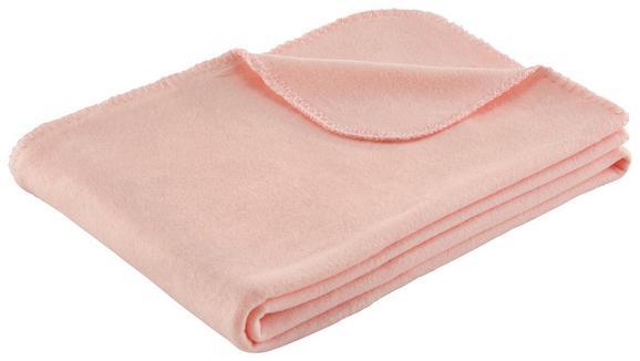 Flis Deka Trendix In Grau - roza, tekstil (130/180cm) - Mömax modern living