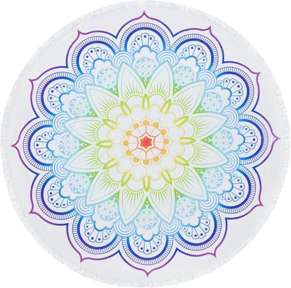 Strandtuch Mandala in Bunt, ca. 150cm - Multicolor, Textil (150cm) - MÖMAX modern living