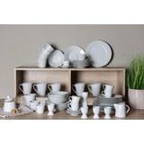 Kombiservice Lena aus Porzellan, 62-teilig - Weiß, Keramik - Mömax modern living