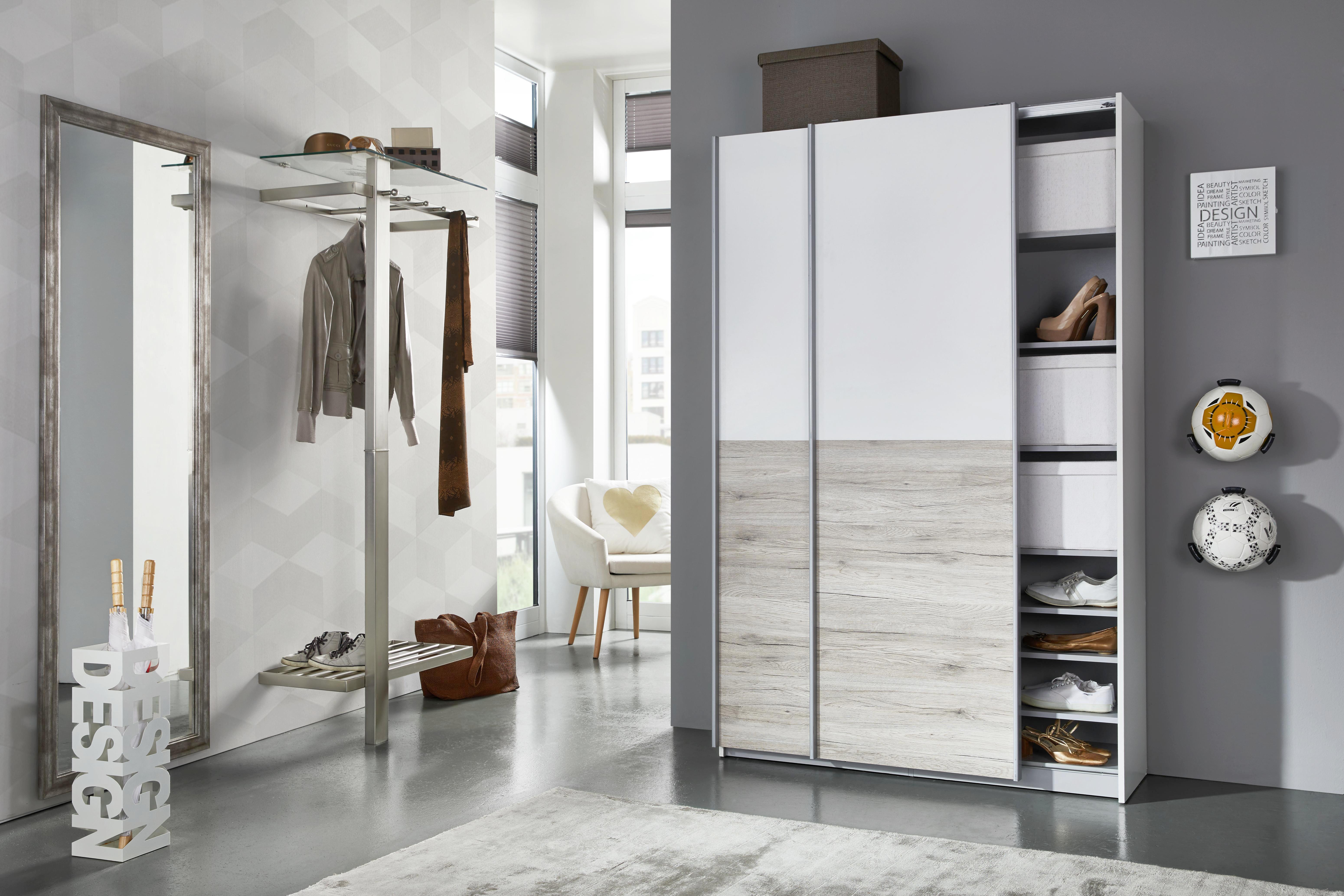 Schirmständer in Weiß - Weiß, MODERN, Metall (16/48/16cm) - MÖMAX modern living