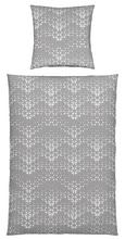 Bettwäsche Finn in Grau, ca. 135x200cm - Grau, MODERN, Textil (135/200cm) - Mömax modern living