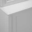 Kredenz Gil - Weiß, MODERN, Glas/Holz (117,5/182,5/47,5cm) - Mömax modern living