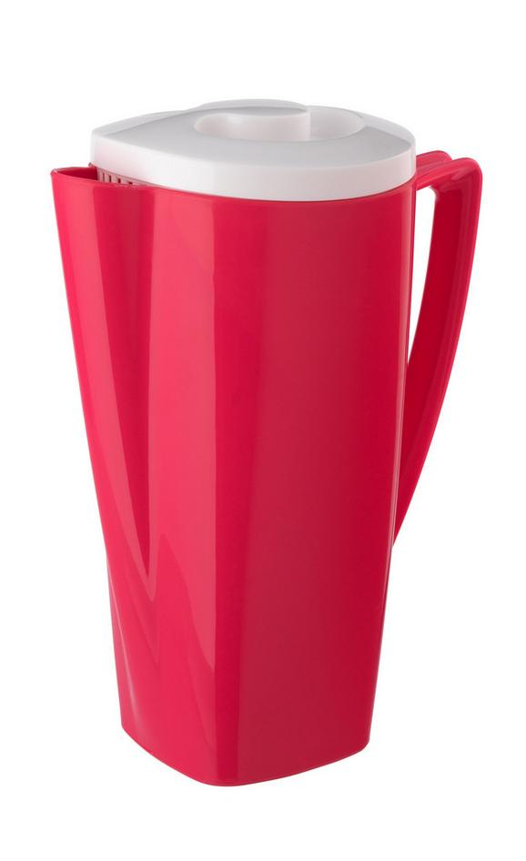 Vrč Za Sok Malia - roza/turkizna, Trendi, umetna masa (12,8/20/26,5cm) - Modern Living