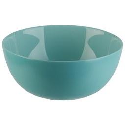 Salatschüssel Alexis aus Glas Ø ca. 21cm - Mintgrün, ROMANTIK / LANDHAUS, Glas (21/9,3cm) - Mömax modern living