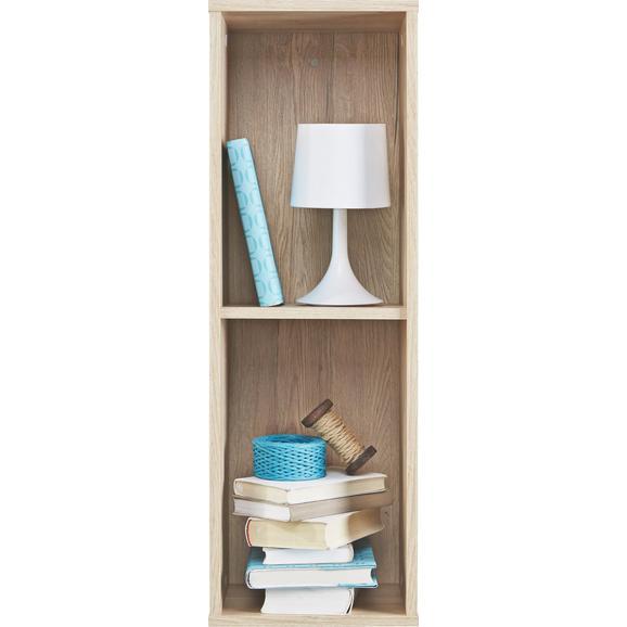 Stenski Regal Match San Remo - hrast, Moderno, leseni material (90/30/26cm) - Mömax modern living