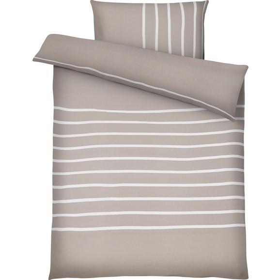 Bettwäsche Tamara Beige ca. 140x200cm - Beige, MODERN, Textil (140/200cm) - Mömax modern living