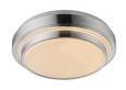 LED-Deckenleuchte Melvin, max. 18 Watt - Weiß, KONVENTIONELL, Kunststoff/Metall (35/10cm) - MÖMAX modern living