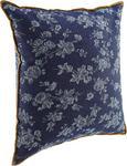 Zierkissen Milane 40x40cm - Blau/Braun, MODERN, Textil (40/40cm) - MODERN LIVING