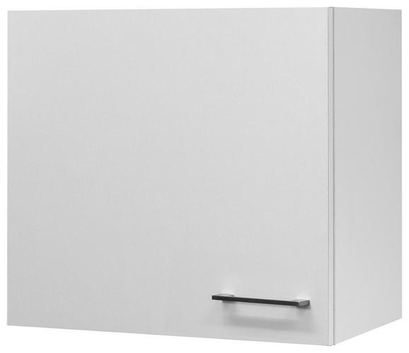 Kuhinjska Zgornja Omarica Neo - bela/nerjaveče jeklo, Moderno, kovina/leseni material (60/54/32cm)