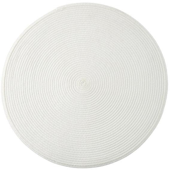 Tischset Billy Weiß - Weiß, Kunststoff (38cm) - Mömax modern living