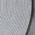 Ročno Tkana Preproga Manila - svetlo siva, Natur, tekstil (160cm) - Mömax modern living