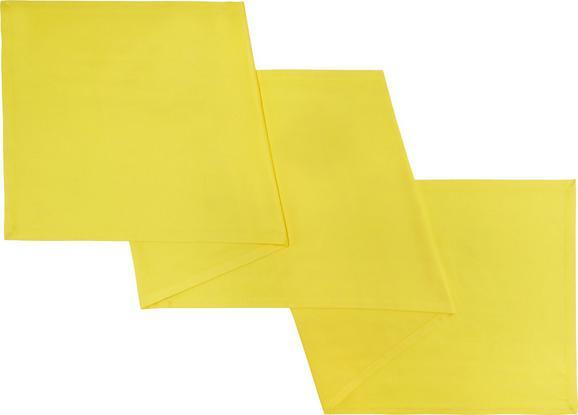 Tischläufer Steffi in Gelb - Gelb, Textil (45/150cm) - Mömax modern living