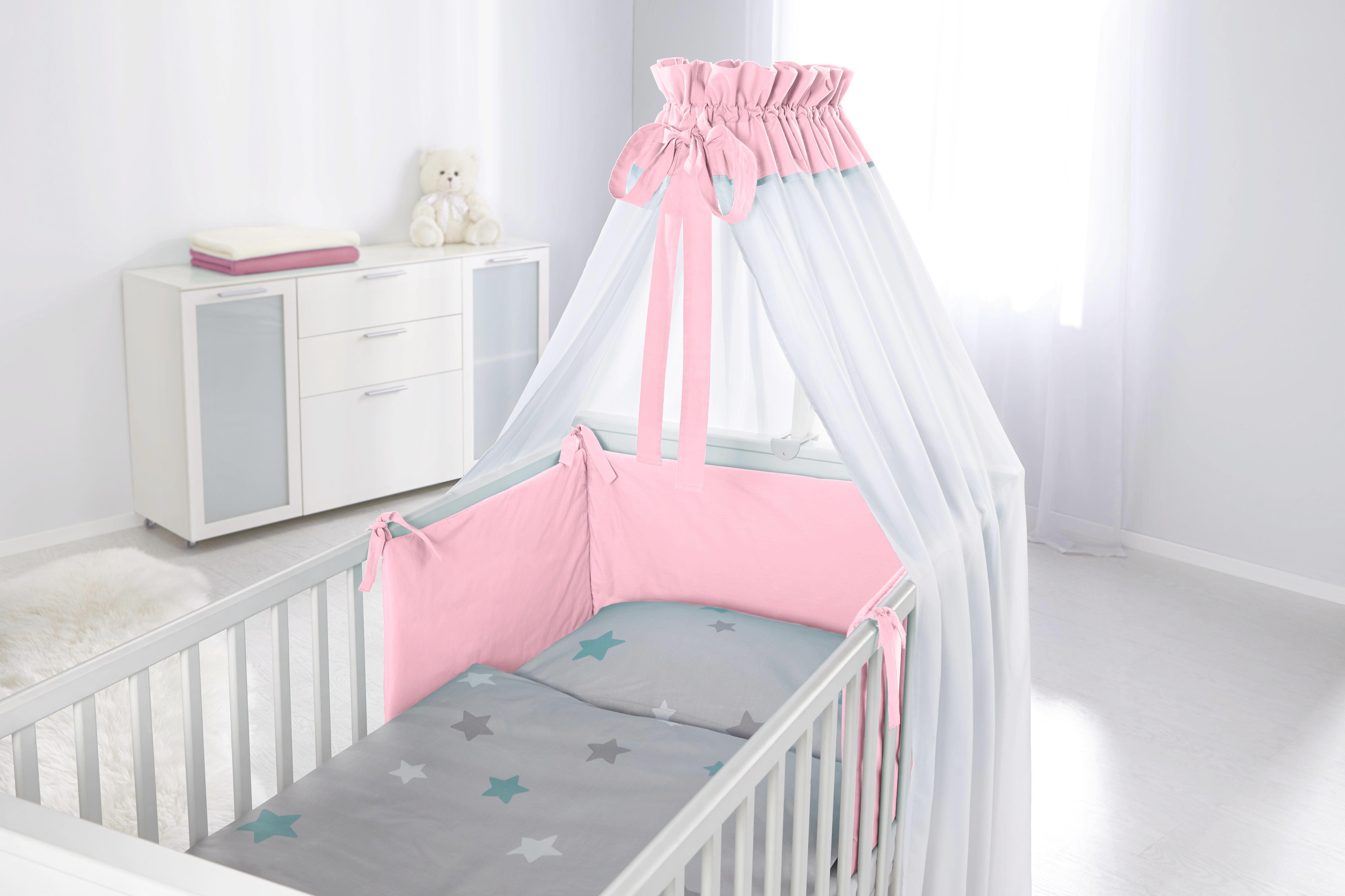 Nestchen in Grau/rosa - Rosa, Textil - MÖMAX modern living