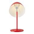 Tischleuchte Toni - Rot/Weiß, MODERN, Metall (26/66cm) - Bessagi Home