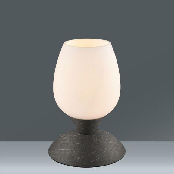 Namizna Svetilka Cup - opečnato rjava/bela, Trendi, kovina/steklo (12,5/22,6cm) - Mömax modern living