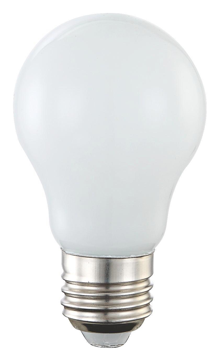 Leuchtmittel Opal, 4 Watt - Silberfarben/Opal (5,5/9,4cm)