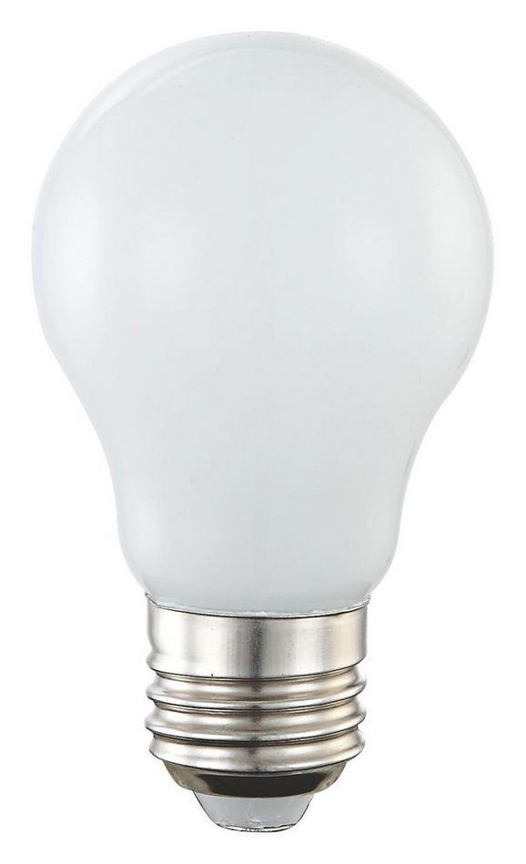 Žarnica 10750 - opal/srebrna (5,5/9,4cm)