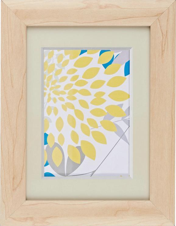 Bilderrahmen Anna, ca. 13x18cm aus Holz - Naturfarben, ROMANTIK / LANDHAUS, Glas/Holz (13/18/cm) - Mömax modern living