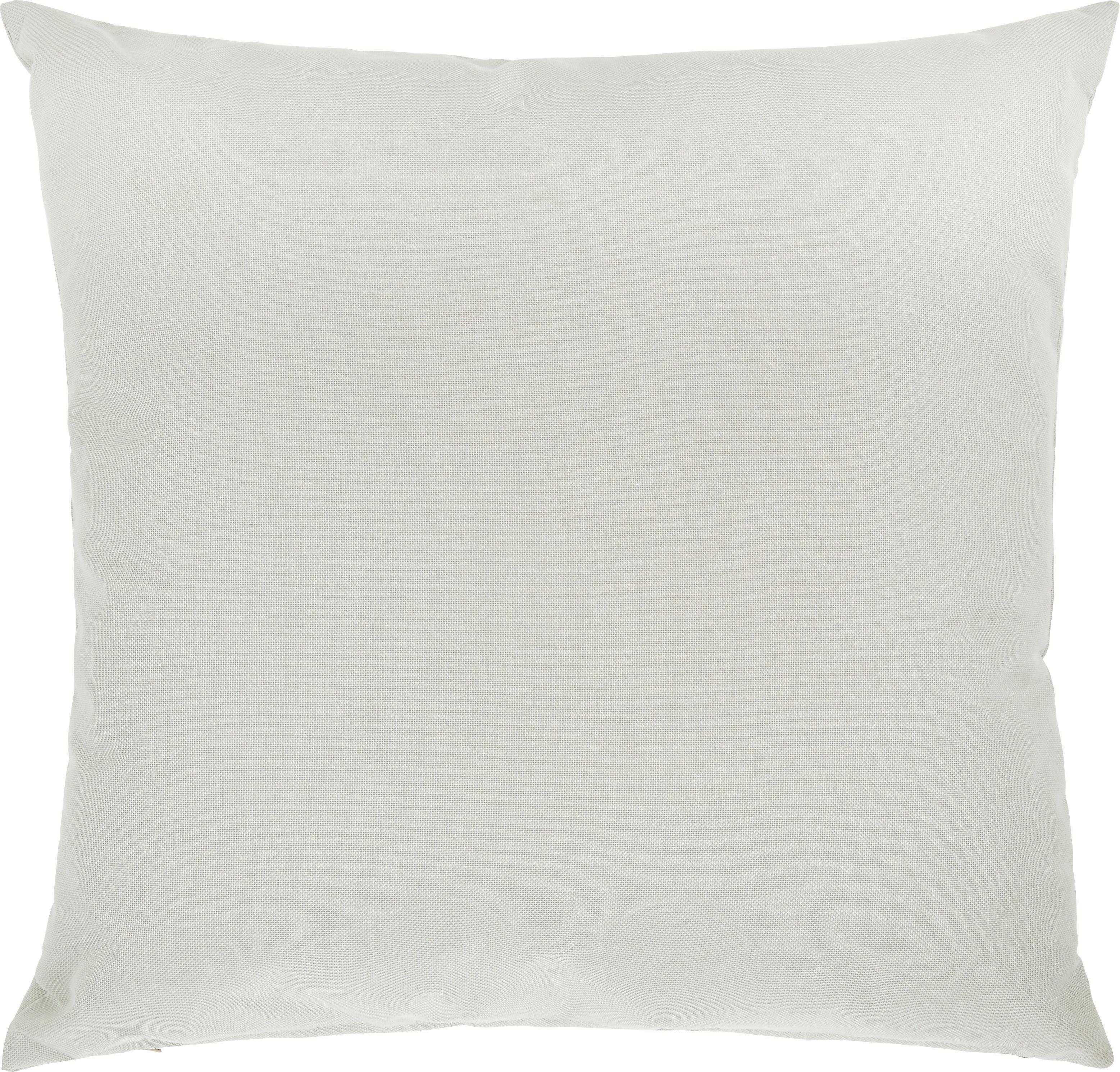 Outdoorkissen Carat 45x45cm - Hellgrau, MODERN, Textil (45/45cm) - MÖMAX modern living