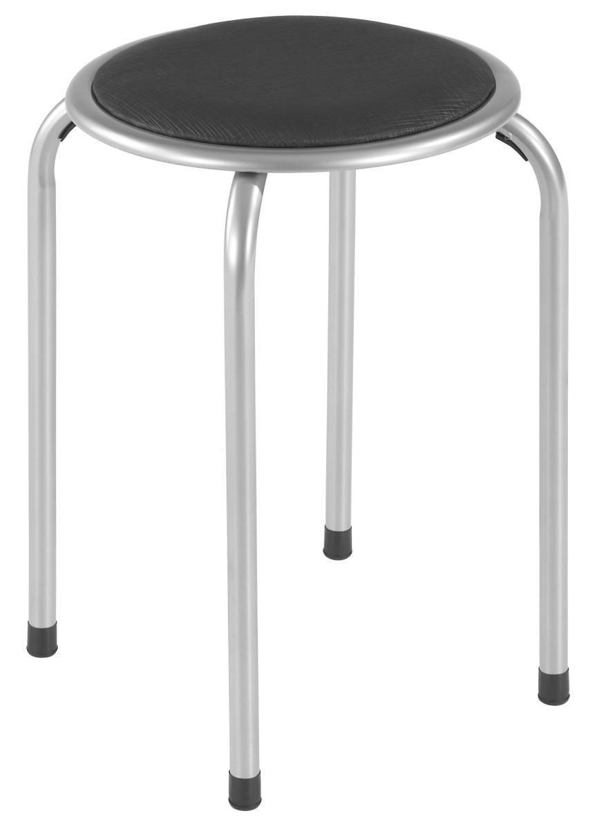 ÜLŐKE RAKI - alu színű, modern, fém (39/45cm)