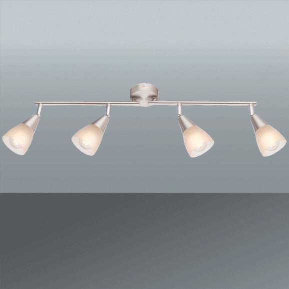 Strahler Tadeus max. 40 Watt - KONVENTIONELL, Glas/Metall (60/19cm)